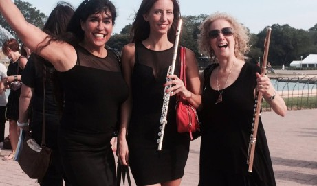 NFA Chicago Overview: Viviana, Barbara, and Fluterscooter
