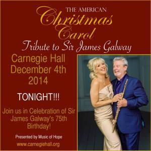 Sir James Galway & Lady Jeanne Galway