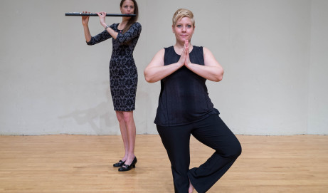 Injury Prevention and Strength Training for Flutists Through Yoga.  By Christina Guenther and Sherri Fleshner