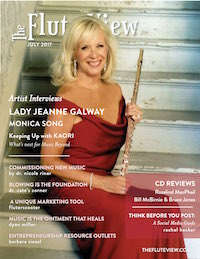 The Flute View July 2017