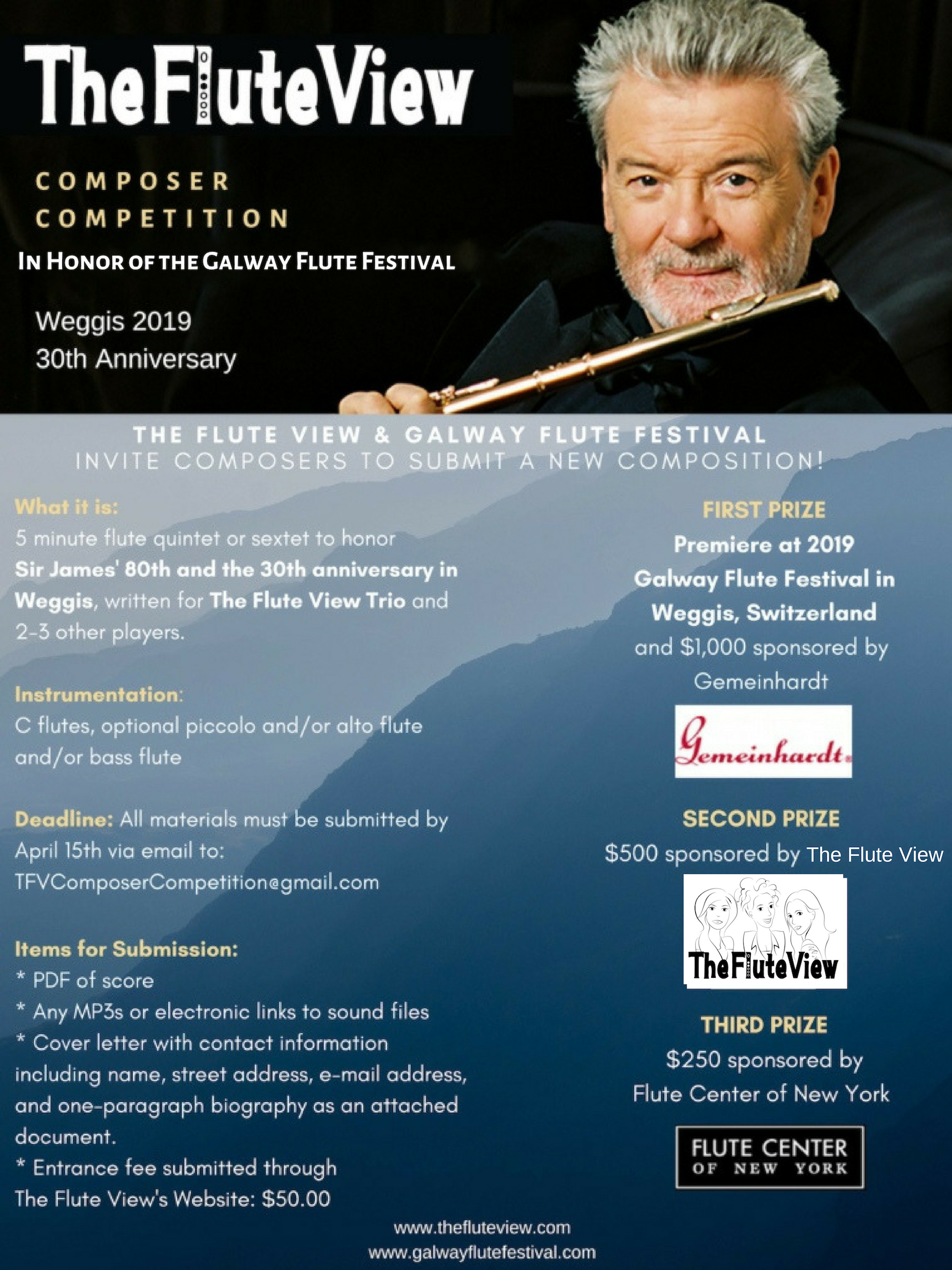 Galway Composer Competition 2019 - The Flute View